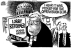 Cartoonist Mike Peters  Mike Peters' Editorial Cartoons 2006-01-14 lobby