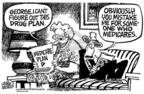Cartoonist Mike Peters  Mike Peters' Editorial Cartoons 2006-01-20 prescription