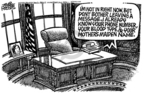 Cartoonist Mike Peters  Mike Peters' Editorial Cartoons 2006-01-21 amendment