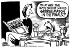 Cartoonist Mike Peters  Mike Peters' Editorial Cartoons 2006-03-31 March madness