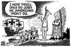 Cartoonist Mike Peters  Mike Peters' Editorial Cartoons 2006-04-01 labor