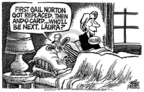 Cartoonist Mike Peters  Mike Peters' Editorial Cartoons 2006-04-02 senator