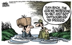 Cartoonist Mike Peters  Mike Peters' Editorial Cartoons 2006-04-14 get