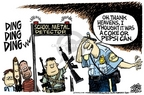 Cartoonist Mike Peters  Mike Peters' Editorial Cartoons 2006-05-07 gun