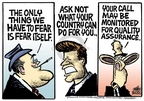 Cartoonist Mike Peters  Mike Peters' Editorial Cartoons 2006-05-14 quality assurance