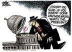 Cartoonist Mike Peters  Mike Peters' Editorial Cartoons 2006-05-27 fourth amendment