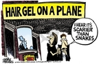 Cartoonist Mike Peters  Mike Peters' Editorial Cartoons 2006-08-13 terrorism