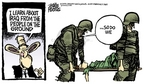 Cartoonist Mike Peters  Mike Peters' Editorial Cartoons 2006-09-23 dead
