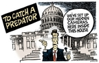 Cartoonist Mike Peters  Mike Peters' Editorial Cartoons 2006-10-05 catch