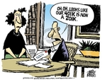 Cartoonist Mike Peters  Mike Peters' Editorial Cartoons 2006-10-20 plan