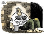 Cartoonist Mike Peters  Mike Peters' Editorial Cartoons 2006-10-26 get