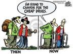 Cartoonist Mike Peters  Mike Peters' Editorial Cartoons 2006-10-27 prescription