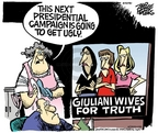 Cartoonist Mike Peters  Mike Peters' Editorial Cartoons 2006-11-18 election