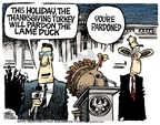 Cartoonist Mike Peters  Mike Peters' Editorial Cartoons 2006-11-25 Thanksgiving turkey