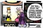 Cartoonist Mike Peters  Mike Peters' Editorial Cartoons 2006-12-16 vegetable