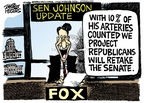 Cartoonist Mike Peters  Mike Peters' Editorial Cartoons 2006-12-17 senator