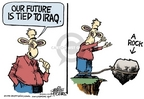 Cartoonist Mike Peters  Mike Peters' Editorial Cartoons 2006-12-29 dropping