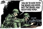 Cartoonist Mike Peters  Mike Peters' Editorial Cartoons 2007-01-11 troop