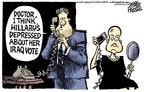 Cartoonist Mike Peters  Mike Peters' Editorial Cartoons 2007-02-21 senator