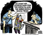 Cartoonist Mike Peters  Mike Peters' Editorial Cartoons 2007-02-25 catch