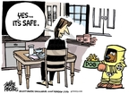 Cartoonist Mike Peters  Mike Peters' Editorial Cartoons 2007-04-01 cat food