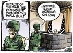Cartoonist Mike Peters  Mike Peters' Editorial Cartoons 2007-04-27 because