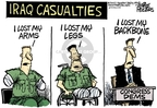 Cartoonist Mike Peters  Mike Peters' Editorial Cartoons 2007-05-25 injury