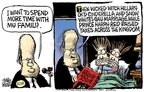 Cartoonist Mike Peters  Mike Peters' Editorial Cartoons 2007-08-14 majority leader