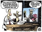 Cartoonist Mike Peters  Mike Peters' Editorial Cartoons 2007-08-16 New York City