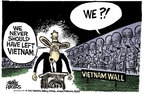Cartoonist Mike Peters  Mike Peters' Editorial Cartoons 2007-08-22 Iraq military