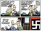 Cartoonist Mike Peters  Mike Peters' Editorial Cartoons 2007-10-10 worry