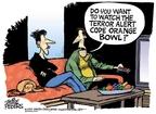 Cartoonist Mike Peters  Mike Peters' Editorial Cartoons 2007-12-26 football game