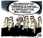 Cartoonist Mike Peters  Mike Peters' Editorial Cartoons 2008-01-09 Bill O'Reilly