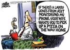 Cartoonist Mike Peters  Mike Peters' Editorial Cartoons 2008-03-05 way