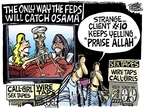 Cartoonist Mike Peters  Mike Peters' Editorial Cartoons 2008-03-13 catch