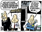 Cartoonist Mike Peters  Mike Peters' Editorial Cartoons 2008-03-20 election