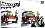 Cartoonist Mike Peters  Mike Peters' Editorial Cartoons 2008-07-03 sport