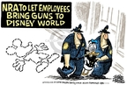 Cartoonist Mike Peters  Mike Peters' Editorial Cartoons 2008-07-08 gun