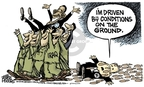 Cartoonist Mike Peters  Mike Peters' Editorial Cartoons 2008-07-22 Iraq military