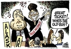 Cartoonist Mike Peters  Mike Peters' Editorial Cartoons 2008-09-03 2008 political convention
