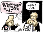 Cartoonist Mike Peters  Mike Peters' Editorial Cartoons 2008-09-16 John McCain