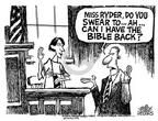 Cartoonist Mike Peters  Mike Peters' Editorial Cartoons 2002-11-03 fifth amendment