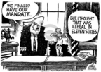 Cartoonist Mike Peters  Mike Peters' Editorial Cartoons 2004-11-09 2004