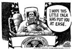 Cartoonist Mike Peters  Mike Peters' Editorial Cartoons 2001-11-10 address