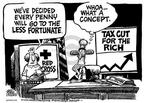 Cartoonist Mike Peters  Mike Peters' Editorial Cartoons 2001-11-21 economic policy