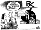 Cartoonist Mike Peters  Mike Peters' Editorial Cartoons 2004-11-21 prescription