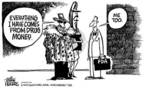 Cartoonist Mike Peters  Mike Peters' Editorial Cartoons 2004-11-22 administration