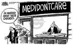 Cartoonist Mike Peters  Mike Peters' Editorial Cartoons 2003-11-29 prescription