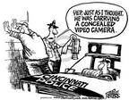 Cartoonist Mike Peters  Mike Peters' Editorial Cartoons 2003-12-04 record