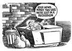 Cartoonist Mike Peters  Mike Peters' Editorial Cartoons 2001-12-14 inflation
